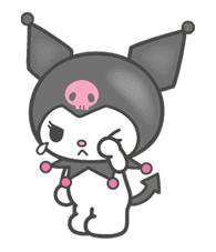 Kuromi  LINE stickers  LINE STORE  Hello kitty pictures