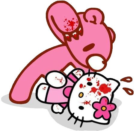 Hello Kitty Wallpaper Download Evil Hello Kitty Characters
