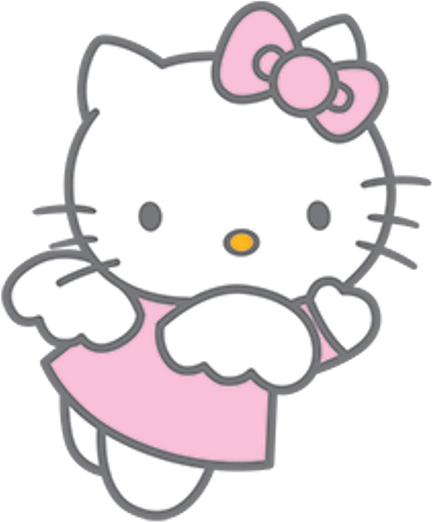 50 Hello Kitty Png Angel  壁紙 配布