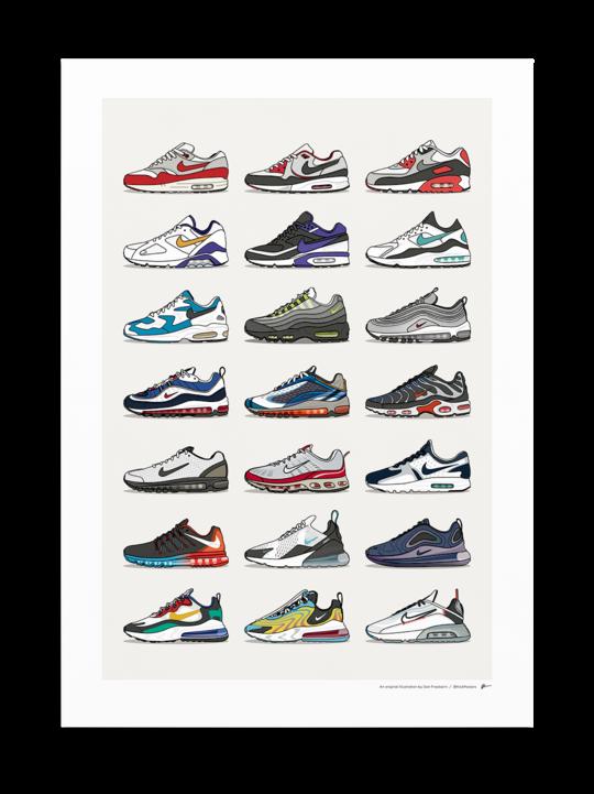 Nike Posters – KickPosters in 2020 | Sneaker posters ... - Funny Nike Logos