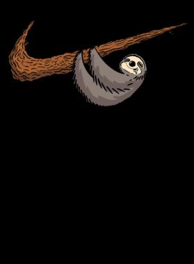 Just Do It Later Funny Sloth Swash Logo Mashup Parody Long