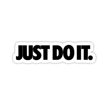 Just do it by maccadzn  Just do it Hydroflask stickers