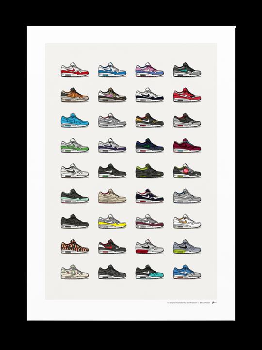 Nike Posters  KickPosters in 2020  Nike poster Sneakers