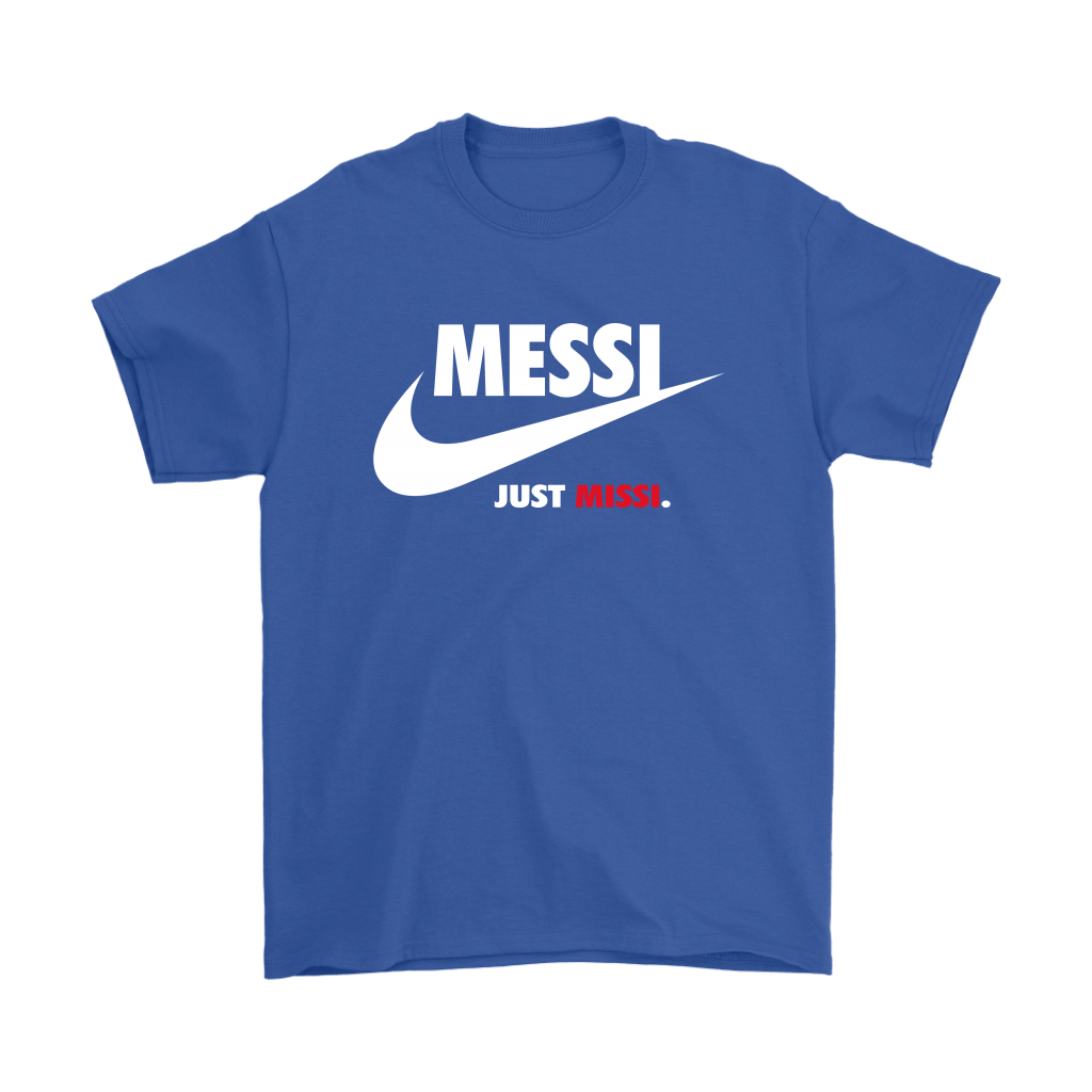 Messi Missi Funny Nike Logo Just Missi Penalty Shirts