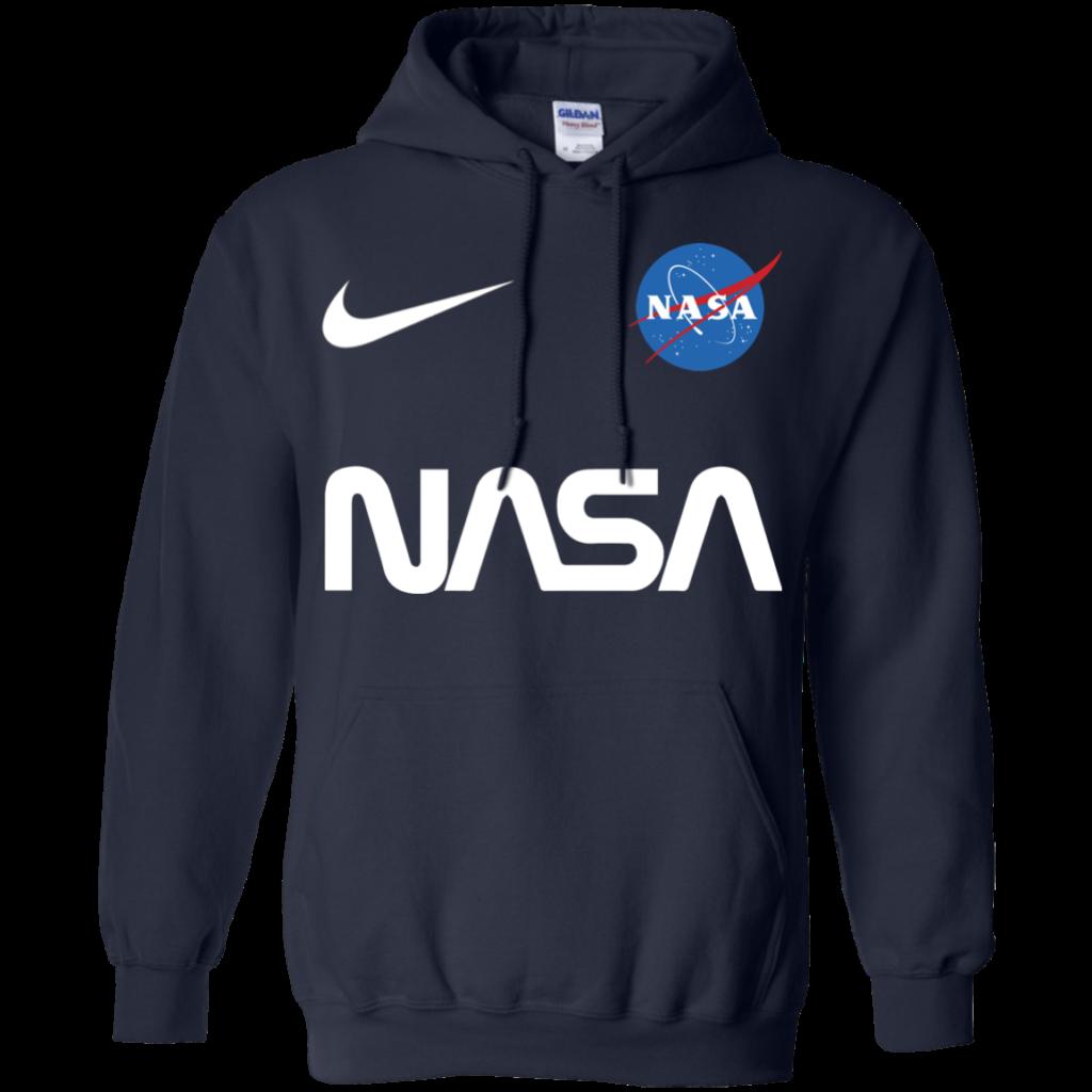 Nasa Astronaut logo Nike funny t shirt Hoodie Men  Alottee