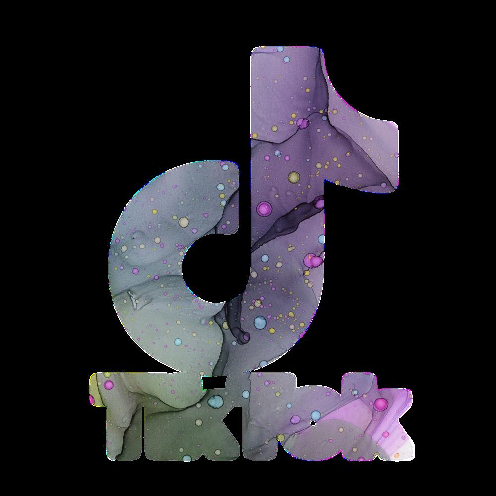 Dark Seas Universal Tik Tok Logotipo de ahora en Redbubble