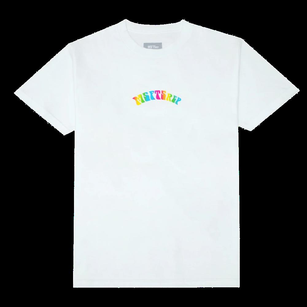 Trippy Logo TShirt White  MSFTSrep in 2020  Tshirt