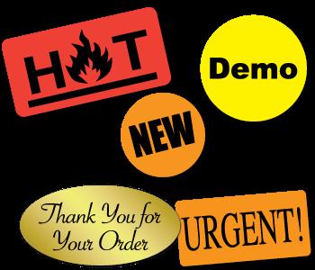 Mailing Labels Brochures Seals Envelope Sticker Seals