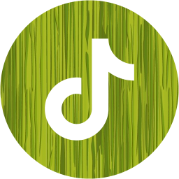 Sketchy green tiktok 3 icon  Free sketchy green social