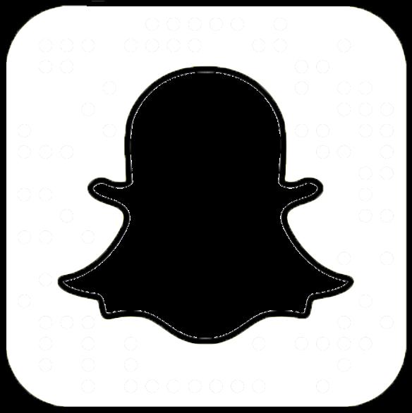 Snapchat Round Logo Transparent Clipart  Full Size