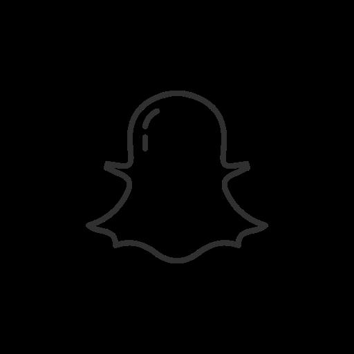 Snapchat Logo name social media icon