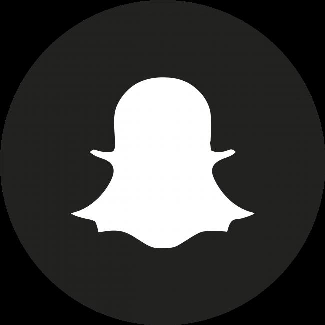 Download Social Media Icon  White Transparent Snapchat