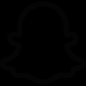 gray Snapchat logo  Png Press  Transparent png free download