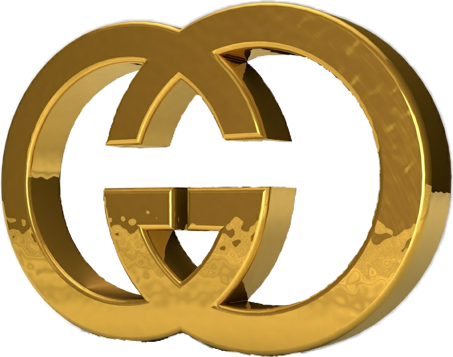 freetoedit guccigang gucci png gold logo sticker guccil