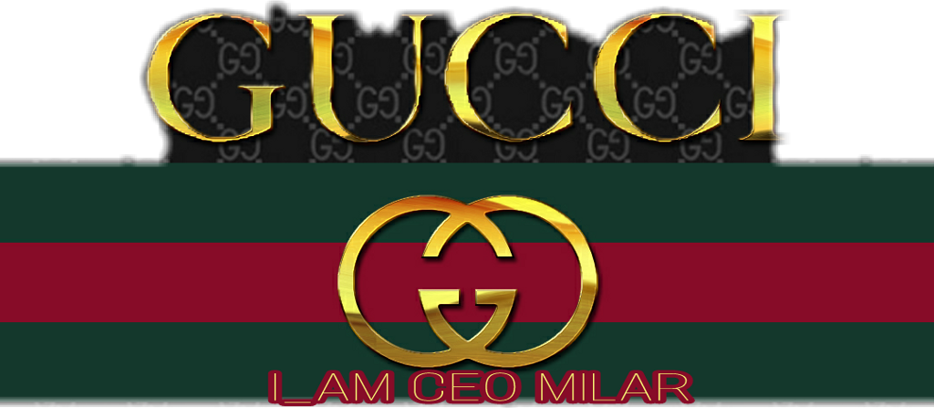 Red Gucci Logo Transparent Background  Unlimited Clipart