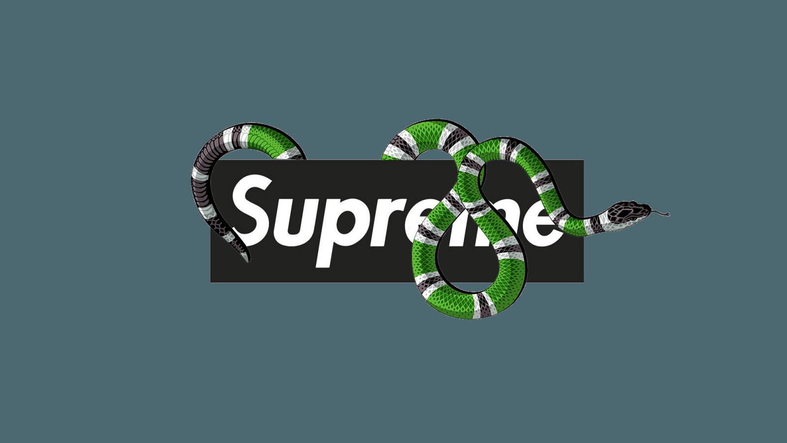 Supreme And Gucci Wallpapers - Wallpaper Cave - Gucci Logo Colors