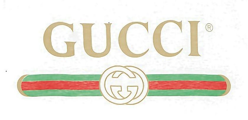 gucci logo  Sticker by  Q i n 子 芩