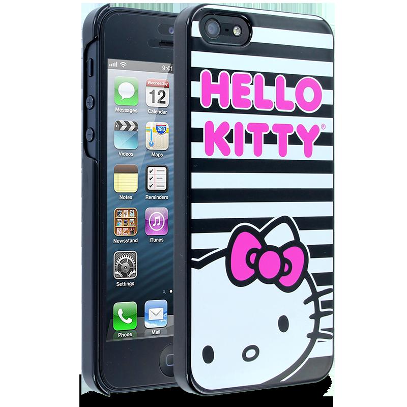 Hello Kitty Horizontal Stripes Case for Apple iPhone 5