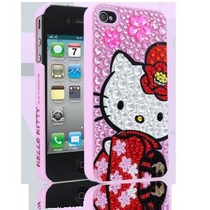 Stylish Cellairis Hello Kitty Kimono Case for iphone 44S