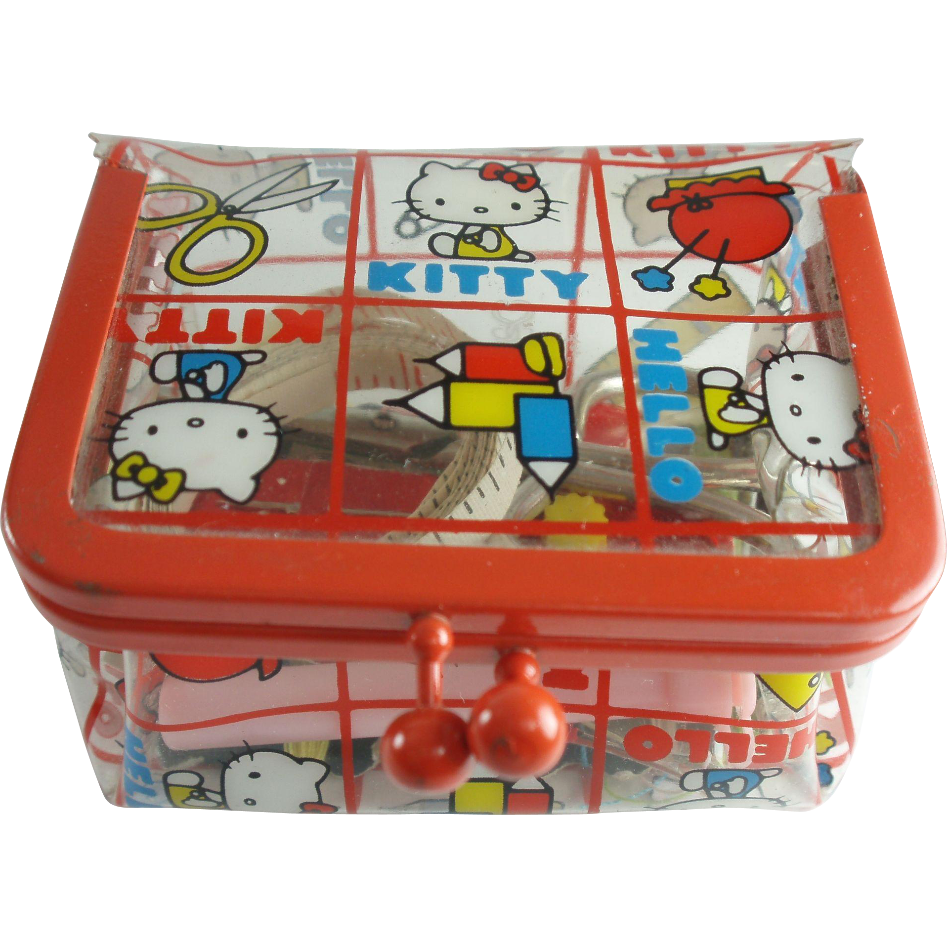 Hello Kitty Sewing Kit 1975 (With images)   Hello kitty ... - Hello Kitty Accessories