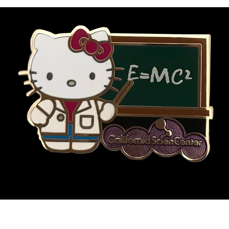 Hello Kitty Physicist Pin EXCLUSIVE  Hello kitty Hello