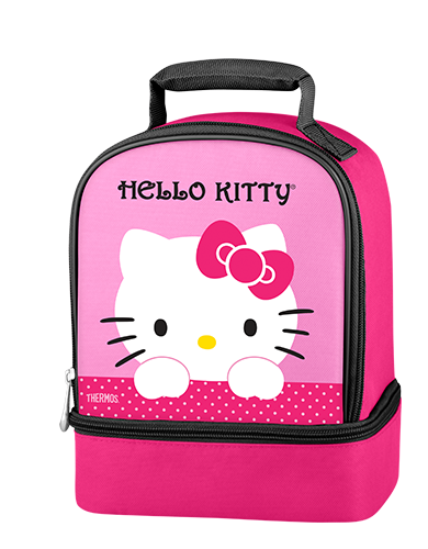 Hello Kitty Dual Compartment Lunch Kit  Hello kitty
