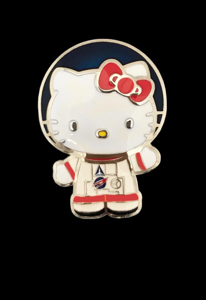 Hello Kitty EVA Suit Pin EXCLUSIVE  Hello kitty