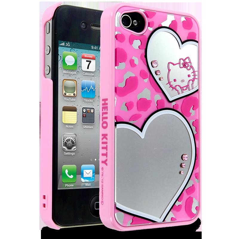 Hello Kitty Mirror Leopard Case for Apple iPhone 4/4S ... - Hello Kitty Accessories