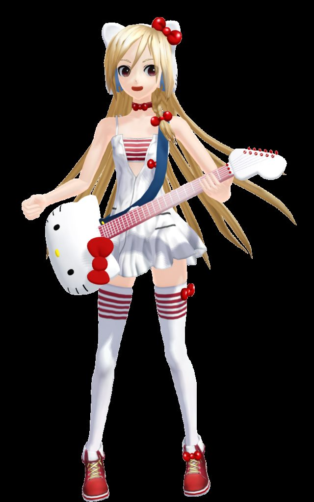 Custom Rio Cosplay Costume Hello kitty from Vocaloid