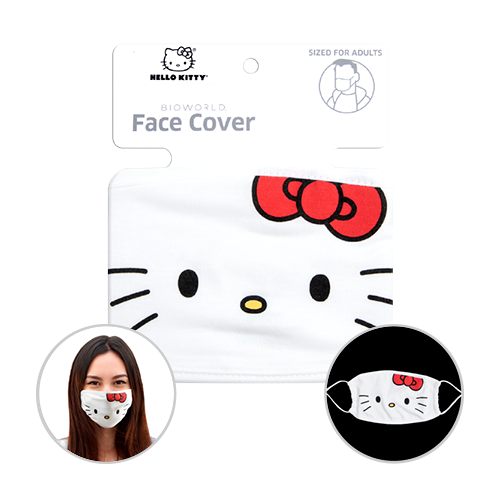 Officially Licenced Hello Kitty Face Mask Sized for adults