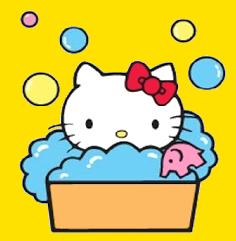 HK Bath  Sanrio hello kitty Hello kitty Kitty