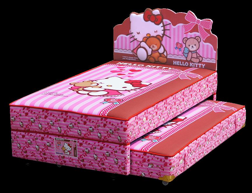 Harga Bigland 2in1 Hello Kitty Best Friends Twin Bed