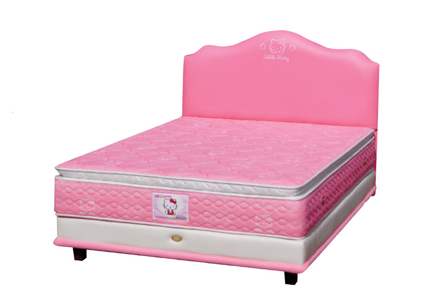 Jual Springbed Hello Kitty Purwokerto Model Pillow Top - Hello Kitty Bed
