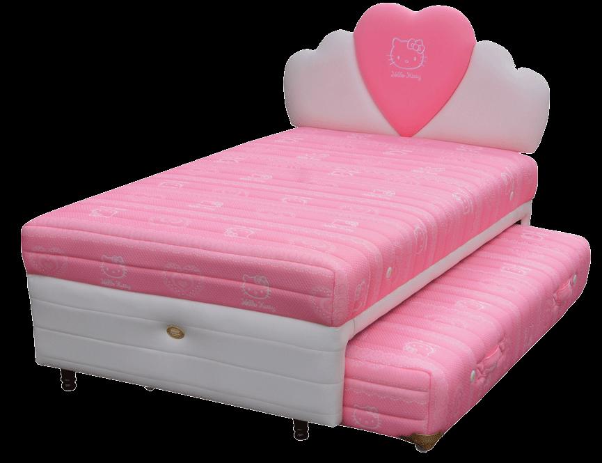 Jual tempat tidur bigland Hello Kitty Twin Bed Classic