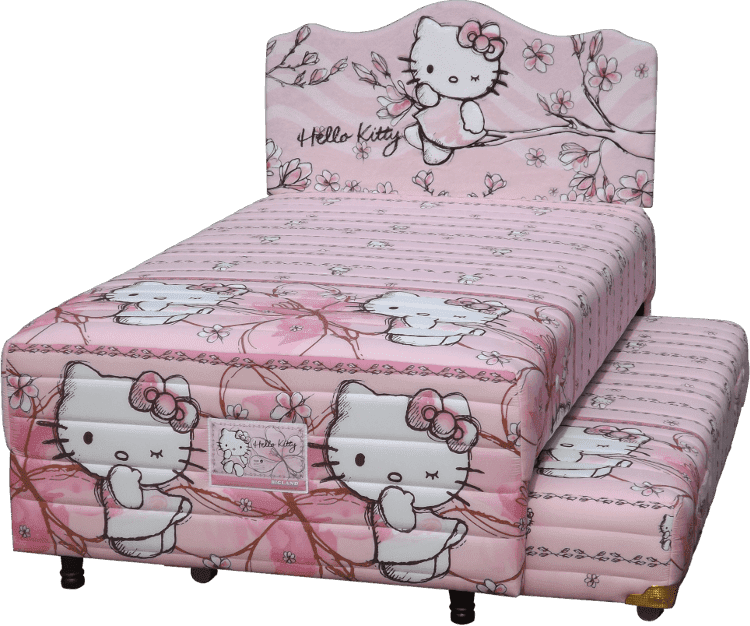 Harga Bigland 2in1 Purwokerto Hello Kitty Magnolia Twin Bed