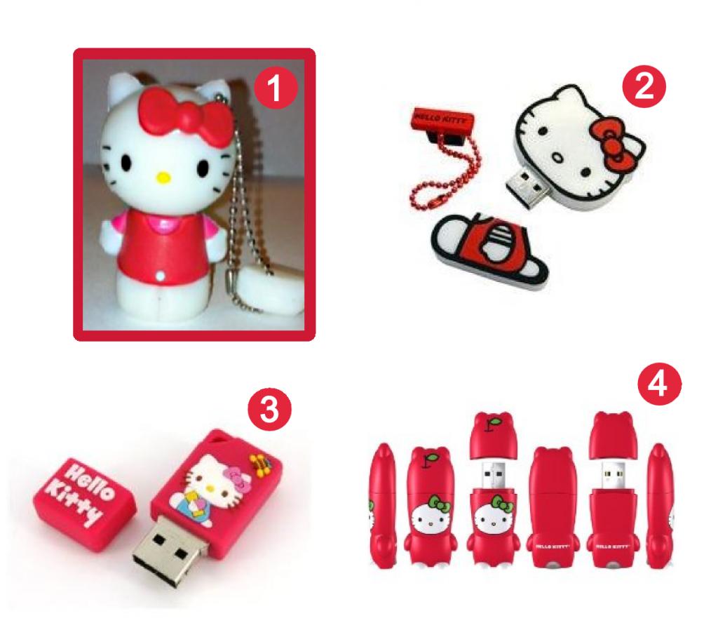 Hello Kitty USB Flash Drives  Oh So Girly