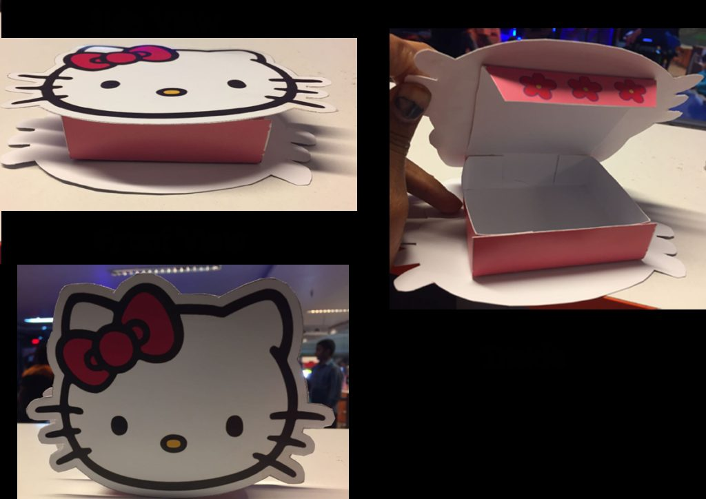 Personalized Hello Kitty Birthday Candy  Choclate Boxes