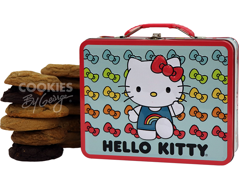 Lunch Box  Hello Kitty Rainbow  Cookies by George