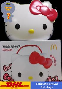 McDonalds Sanrio HELLO KITTY Carrier Basket Snack Box