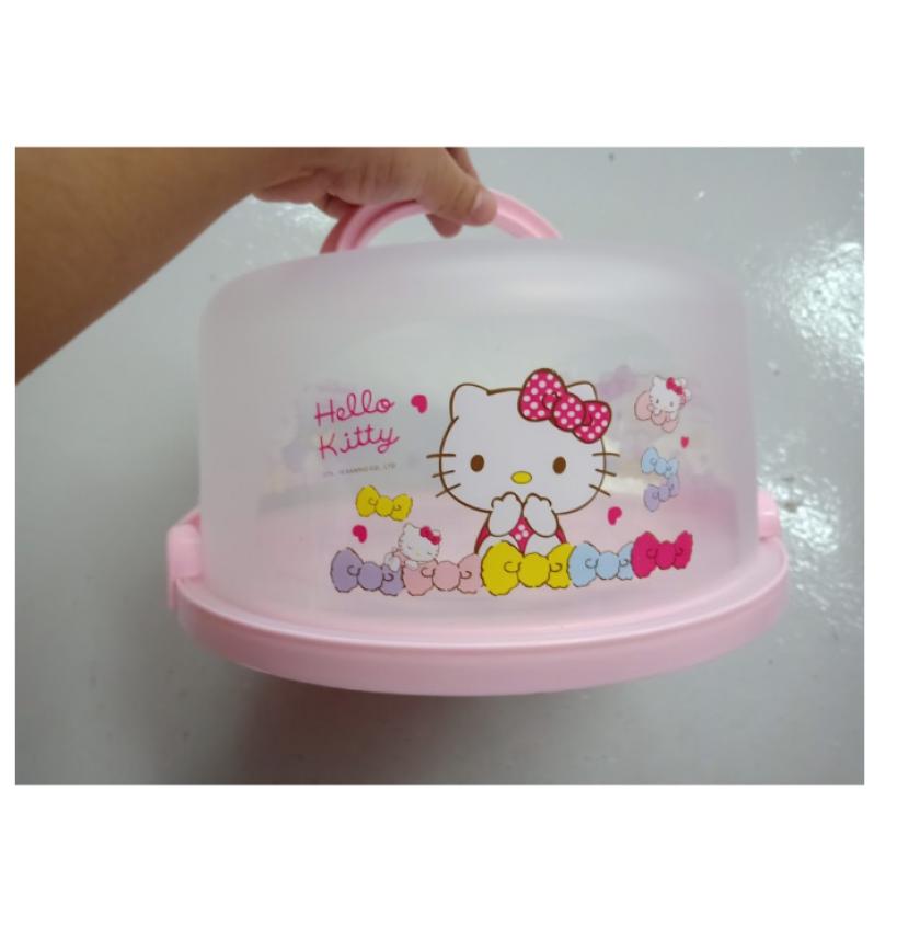 H208 Hello Kitty Melody Plastic Portable Cake Box 8 B