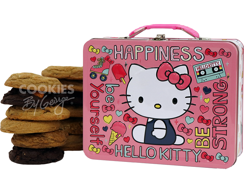 Lunch Box  Hello Kitty Be Strong  Cookies by George