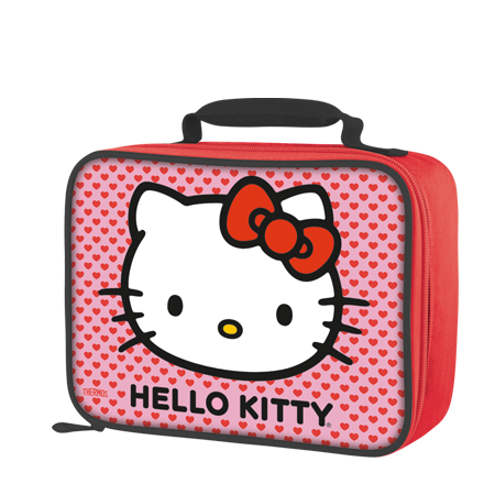 Hello Kitty Soft Lunch Kit  Lunch Kids tumbler Lunch box