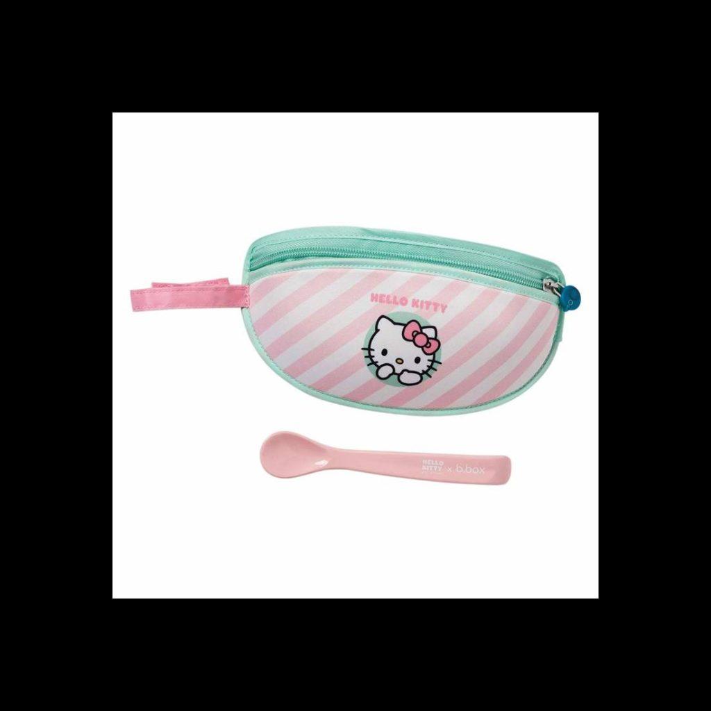 Śliniak dla niemowlaka w saszetce Hello Kitty Candy Floss