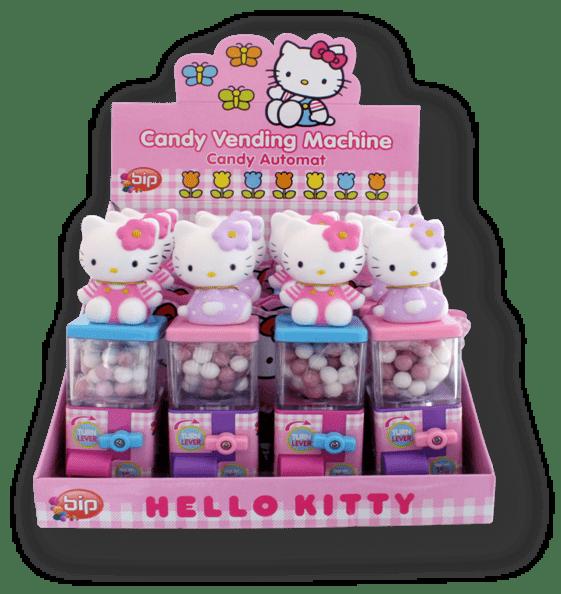 Hello Kitty Candy Vending Machine  The Chocolate Bar