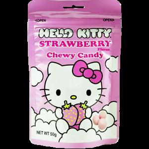 Sanrio Hello Kitty Strawberry Milk Chewy Candy 50g  eBay