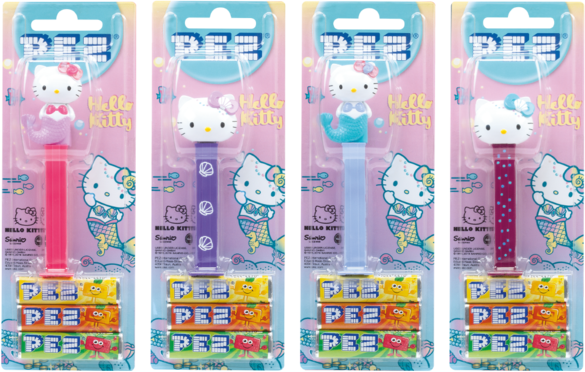 Pez Hello Kitty Pez Candy 12 Count 9044400801066  eBay