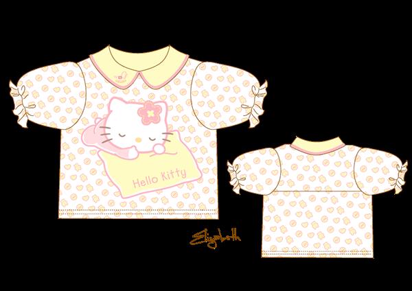 toddlers shirts hello kitty on Behance  Hello kitty