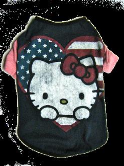 Medium Hello Kitty Tee  Cat tee Dressed up dogs Kitty