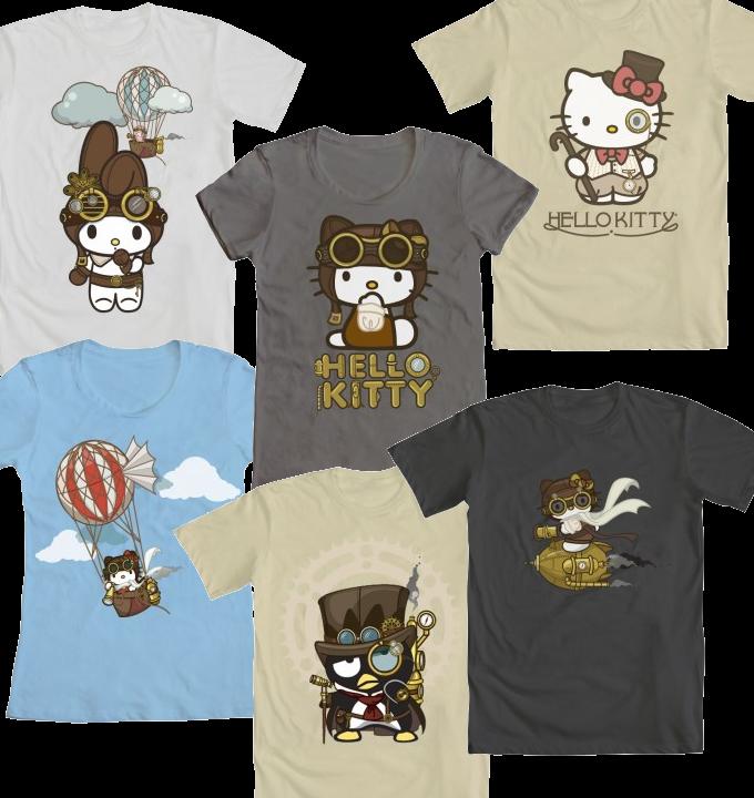 Steampunk Hello Kitty collection  Hello kitty Hello