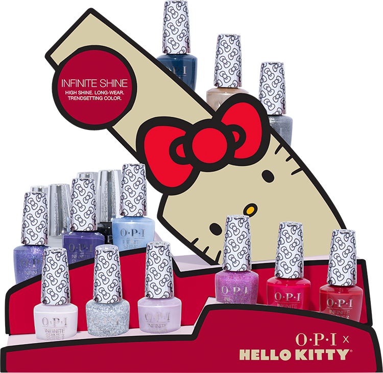 OPI Infinite Shine Hello Kitty Collection 12 Piece